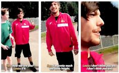 """Our fandom disagrees on most things, but if there's one thing we can all agree on, it's that Louis is NOT 5'9"""""""