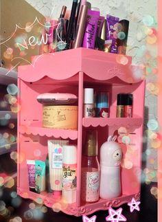 Princess and Pink Lemonade: Princess Makeup Table from Etude House