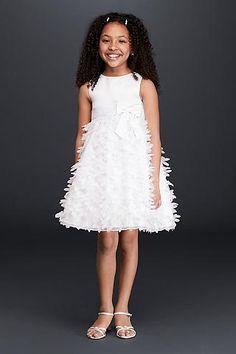 Flower Girl Dresses in Various Colors & Styles | David's Bridal