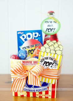 Father's Day Gift Basket Idea!