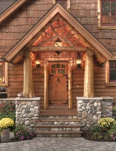 Traditional Home Log Design, Pictures, Remodel, Decor and Ideas - page 8