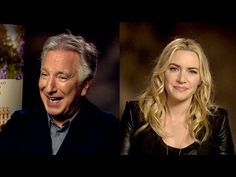 Kate Winslet remembers Alan Rickman with a funny story, praises Boyle, Fassbender - YouTube