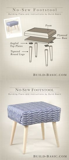 Magnificent 31 Best Diy Footstool Images In 2019 Diy Footstool Diy Unemploymentrelief Wooden Chair Designs For Living Room Unemploymentrelieforg