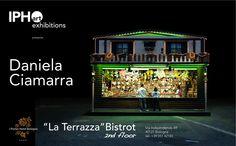 """Fino a fine agosto mostra di Daniela Ciamarra presso """"La Terrazza""""Bistrot second flor @I Portici Hotel Bologna"""