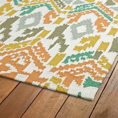 Check out Vivid Aztec Indoor/Outdoor Rug from Shades of Light