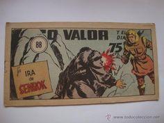 COMIC COMANDANTE ESPACIAL ESPACIO DIEGO VALOR Nº 88 DE LA COLECCION ORIGINAL DEL AÑO 1954. NO COPIA.