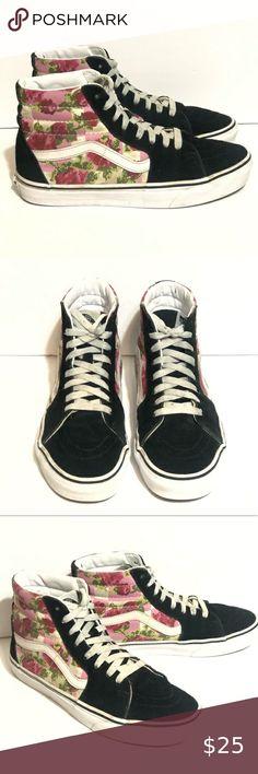 Chaussures De Skate École Primaire Vans Sk8 Hi Marine