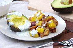 Herbstliche Erdäpfelpfanne Avocado Egg, Eggs, Breakfast, Food, Apple, Morning Coffee, Meal, Egg, Essen