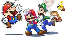 Mario & Luigi: Paper Jam art - Nintendo Everything Mario Star, Mario Bros., Super Mario Brothers, Super Mario Bros, Yoshi, Princesa Peach, Nintendo World, Super Mario World, Video Game Art