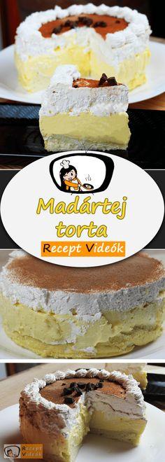 Hungarian Recipes, Cocktail Recipes, Cocktails, Tiramisu, Tart, Pie, Sweets, Cookies, Ethnic Recipes