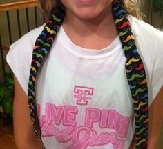 DIY Neck Cooling Wrap My daughter wanted a neck cooling wrap to use in softball. We looked around and priced them around $15. I had the mustache material left over from a redecorating project, found the water beads on clearance at Walmart, and sewed it in less than an hour. She loves it!
