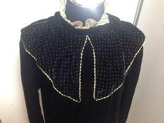 A personal favorite from my Etsy shop https://www.etsy.com/il-en/listing/253179803/black-dressvintage-dressdresseswomens
