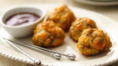 Thanks to Bisquick® Gluten Free mix you can eat gluten freely and enjoy our favorite Sausage-Cheese Balls.