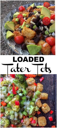 Factors You Need To Give Thought To When Selecting A Saucepan Easy Cheesy Loaded Tater Tot Recipe: Two Ways - Clean Eats, Fast Feets Entree Recipes, Side Dish Recipes, Vegetarian Recipes, Healthy Recipes, Healthy Eats, Delicious Recipes, Vegetarian Options, Easy Recipes, Easy Family Meals