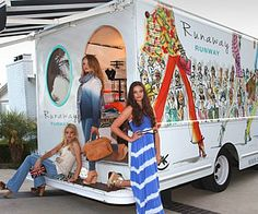 Runaway Runway - mobile fashion truck, Los Angeles (love the name of this one)