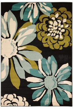 Eloise Area Rug II  $199......wonder if i can diy something like it.