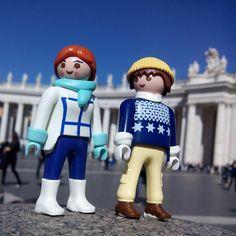 La Columnata de San Pedro del Vaticano #playmobil #plays #playmobilcollector #playmylove #playmobilfun #playmobillovers #playmobilporelmundo #play #losfructis #loveit #italia #italy #instaplaymobil #vaticano #sanpietro