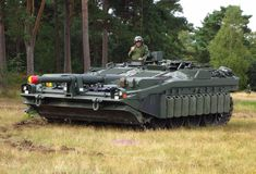 Stridsvagn 103 - the Swedish tank without a turret.