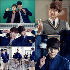 'School 2013′ stars show their friendship through BTS cuts