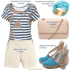 Como usar short de alfaiataria - 1 Short = 4 Looks