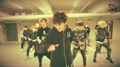 TOPP DOGG -  들어와[OPEN THE DOOR] Dance practice vid. (things you miss out on, hansol totally walking over another member [seogoon...g..?] and GO WIZARD LINE/DANCE LINE~!!)