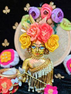 Cartoon Girl Images, Girl Cartoon, Laddu Gopal Dresses, Bal Gopal, Girls Image, Krishna, Fan, Club, Hand Fan