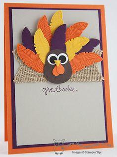 The Crafty Owl's Blog | Four Feathers turkey