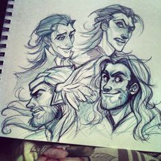 Thor and Loki. TO @Morgan D Jackson -- I'VE FOUND SOMEONE ELSE FOR TEAM LOKI!!!!!