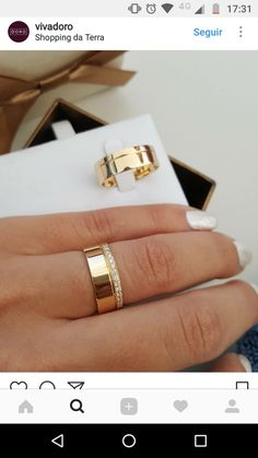 Perfect #alianças #alianzas #weddingring