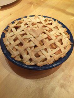 American Apple pie!  smells wonderful!