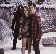 Stiles Stilinski and Lydia Martin - Teen Wolf - Stydia Dylan O'brien, Teen Wolf Dylan, Teen Wolf Cast, Alphabet A, Teen Wolf Stydia, Stiles And Lydia, Dylan Sprayberry, Wolf Stuff, Wolf Love