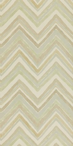 Zigzag  This abstract design was adapted from a 1930s fabric found in the Sanderson archive. It was repainted onto plaster to imitate the fresco technique often used by the Bloomsbury artists to decorate their homes and shows the distinctive tonal effects created by this form of decoration. The Orlando Weave and Orlando Velvet collections complement this design to create contemporary schemes.    Collection: Bloomsbury Canvas Wallpapers   Design name: Zigzag