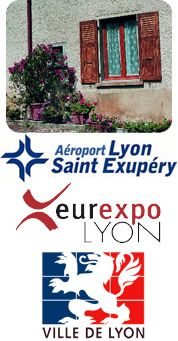 Gite les vercheres : Proximité Lyon, Eurexpo, Aéroport Saint-Exupéry