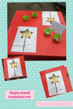 Transient art using loose parts and blank magic wands. EYFS Transient art using loose parts and blank magic wands. Gruffalo Activities, Fairy Tale Activities, Eyfs Activities, Princess Crafts, Princess Theme, Castles Ks1, Castles Topic, Light Fest, Magic Theme