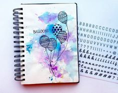 Идеи для личного дневника - ЛД Watercolor Wallpaper, Watercolor Cards, Watercolor Illustration, Watercolor Paintings, Watercolour, Doodle Paint, Diy Back To School, Art Journal Pages, Pictures To Paint
