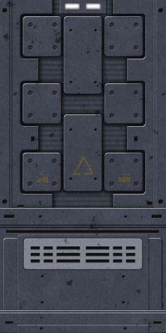3d Texture, Tiles Texture, Metal Texture, Game Textures, Textures Patterns, Star Wars Room Decor, Terrain Texture, Zbrush, Spaceship Interior
