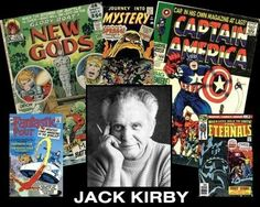 February 6 - d. Jack Kirby, American comic book writer and illustrator (b. 1917)