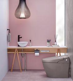 【注文住宅】掃除が嫌いなひとはこれを選ぶべからず! | ほんとうに必要な物しか持たない暮らし◆Keep Life Simple◆〜インテリアのきろく〜 Main Image, Toilet, House Plans, Wall Lights, Bathtub, How To Plan, Cabinet, Interior Design, Bathroom