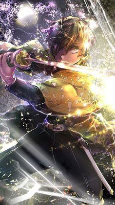 Kimetsu no yaiba Demon Slayer High Quality Wallpaper for mobile Fan Anime, Otaku Anime, Anime Art, Demon Slayer, Slayer Anime, Demon Hunter, Warrior Girl, Character Wallpaper, Kawaii Anime Girl