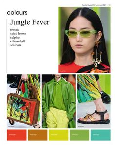 Published in the run-up to the fabric and yarn fairs, with special focus on young women's wear, street fashion, designer collections, trade fair reports. Fashion Catwalk, Fashion 2020, Textiles, Spring Fashion Trends, Spring Summer Trends, Quoi Porter, Fashion Forecasting, Fashion Marketing, Fashion Colours