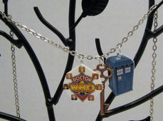 Doctor Who Classic Doctors Charm Necklace