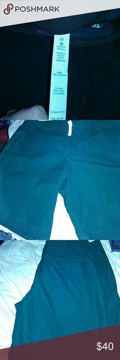 Lulu mens shorts size 38 Lululemon mens shorts size 38. Excellent condition. lululemon athletica Shorts