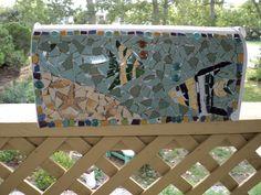 tiare tahiti mosaic mailbox