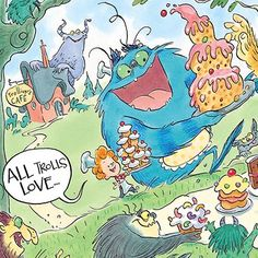 books4yourkids.com: Troll and the Oliver by Adam Stower