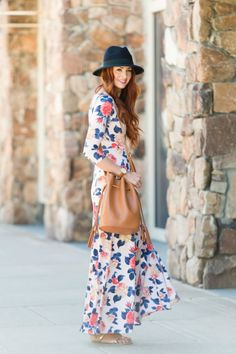 Floral Maxi Dress Spring Style