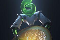 Animacja realizowana w ramach kampanii społecznej przeciwko GMO