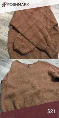 Fury copper sweater 🍒Great condition 🍒 ms kipps Sweaters