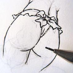 #erotic #eroticart #erotique #erotismo #erotism #art #artwork #drawing #nudeart #lineart #sex #sexydrawing #eroticdrawing #line #ink #ilustracionerotica #minimal #notebook #sketch #sketchbook #pencil #nachocasanova #illustration #eroticillustration #butt #ass #buttcheeks #silkribbon