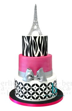 Paris Glamour - Cake by Berliosca Cake Boutique