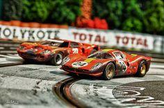 The Final Laps - Doctorsid - Art of Slot Cars - Slot Car Racing Limited Prints & Posters